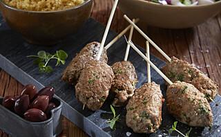 #Familiesøndag: Lammekofta med gresk salat
