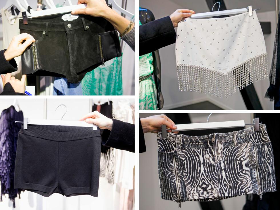 KORT OG KORTERE: Shortsen og skjøtet skal bli enda kortere neste år, og skal henge lavt på hoftene..heldigvis! Foto: Per Ervland