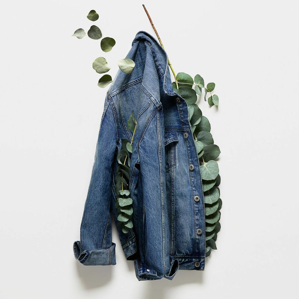 DENIM: Kolleksjonen består av de fem klassiske denimplaggene - blant annet dongerijakker og jeans.  Foto: HM
