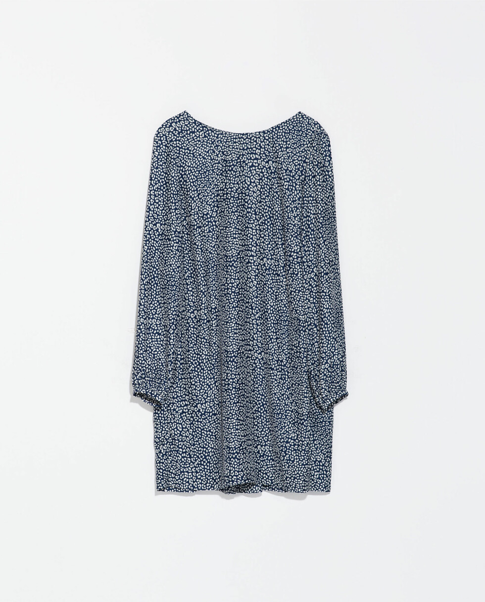 Blå (kr 400, Zara).