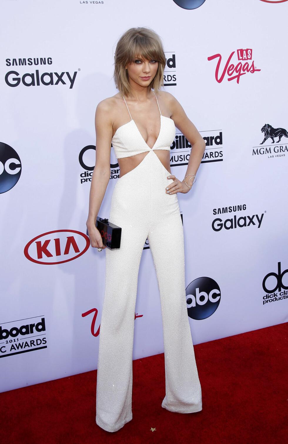 HELHVITT: Taylor Swift tok hjem åtte priser. Foto: wenn.com Scanpix