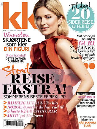 KK: Cecilie ble ny i KK11. Foto: All Over Press