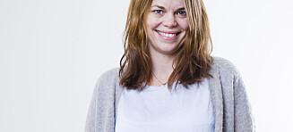 Se så fin Cecilie (34) ble på håret
