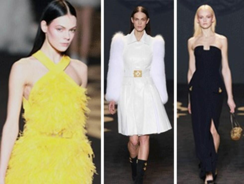 Bilder fra Versace-visning under Milan Fashion Week Womenswear Autumn/Winter 2011. Foto: All Over Press/Wireimage