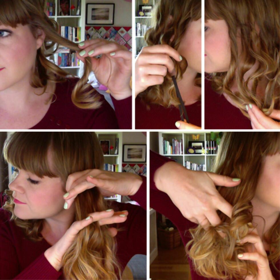 RUFS, RUFS: Ta ut krøllene og del dem opp med fingrene for en myk, uanstrengt look. Foto: Aina Kristiansen