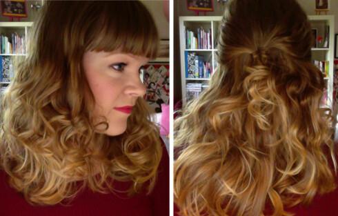 BØLGER: Gå med håret helt løst eller sett opp deler av det for å få det vekk fra ansiktet.  Foto: Aina Kristiansen