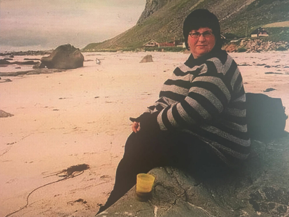 VAR OVERVEKTIG: På det meste veide Mari-Mette 150 kg. I 2012 ble hun fedmeoperert, og i dag veier hun 79. – Nå er livet lettere – både fysisk og psykisk, sier tobarnsmoren. Foto: Privat