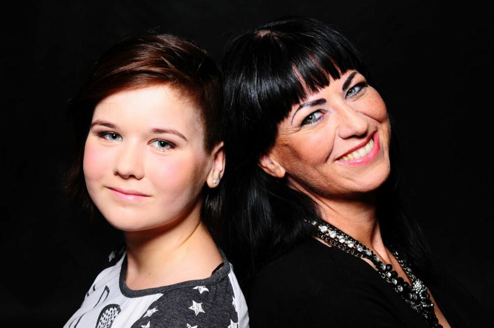 BETYR ALT: Mari-Mette sammen med datteren Maria. Hennes største frykt var å dø fra barna da hun ble fedmeoperert i 2012.