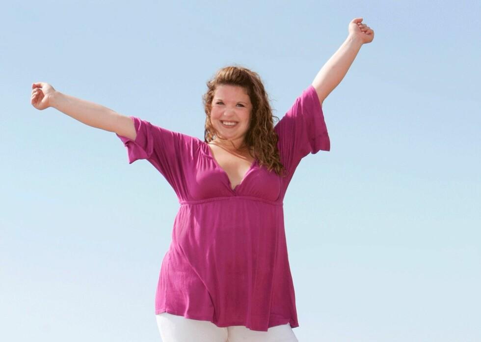 LITT OVERVEKTIG: Undersøkelser har vist at kvinner som allerede har en hjertesykdom, blir beskyttet mot hjerteinfarkt dersom de har litt ekstra fett på kroppen. Foto: NTBSCANPIX