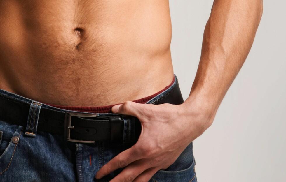 <strong>FETTSUGING:</strong> Det er ikke bare kvinner som ønsker en slank midje. Stadig flere menn fettsuger magen.  Foto: pressmaster - Fotolia