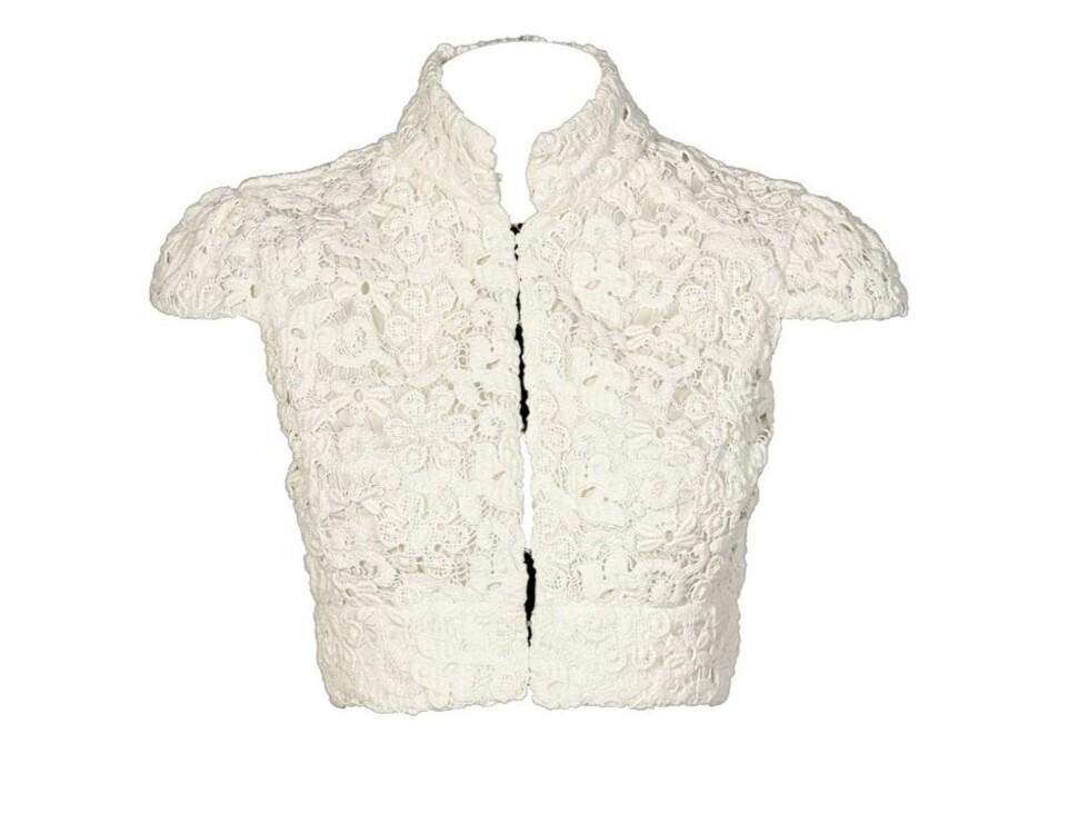 PIFFER OPP: Blondetopp som kan brukes både til jeans over singlet eller til finkjolen (kr 1895, Kameleon).