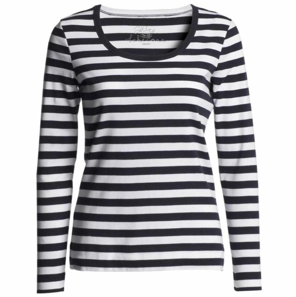 MARITIM MOTE: Stripete trøye som kommer tilbake vår etter vår (kr 130, KappAhl).