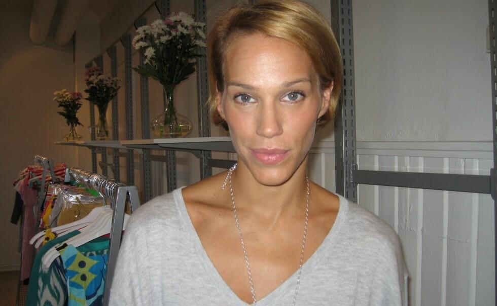 Emma Wiklund jobber som modell og med presse for Lindex, og var nylig i Oslo for å presentere vårens kolleksjon.