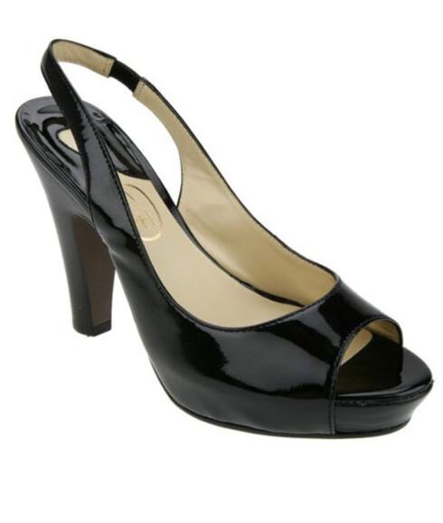 Svart sko i 50-tallsstil (kr 1300, Ash/Lille Vinkel Sko).