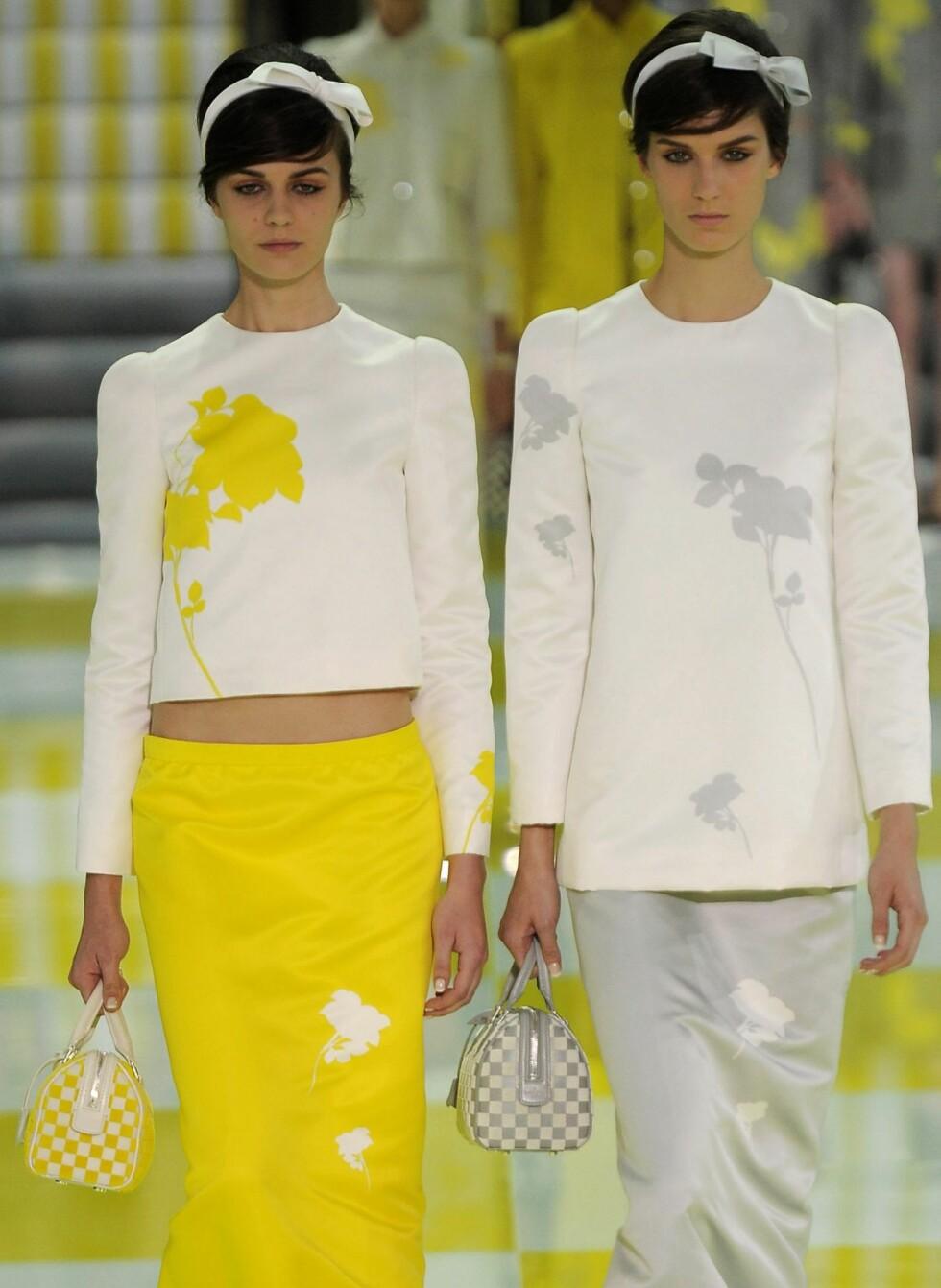 Visste du at sitrongult er sesongens it-farge? I alle fall hvis vi skal tro Louis Vuitton... Foto: All Over PressAll Over Press