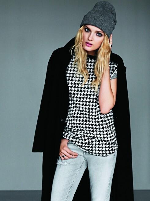 HOT STILIKON: Cubus' modell for vinterens kampanjer er Lily Donaldson, et av de mest anerkjente ansiktene i den nye generasjonen av supermodeller.