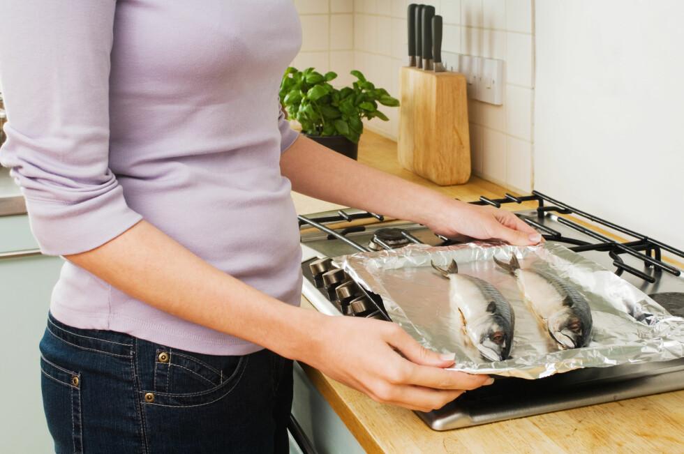 FISKELUKT: Fisk var en av luktene testpersonene ble spurt om de kjente igjen.  Foto: All Over Press