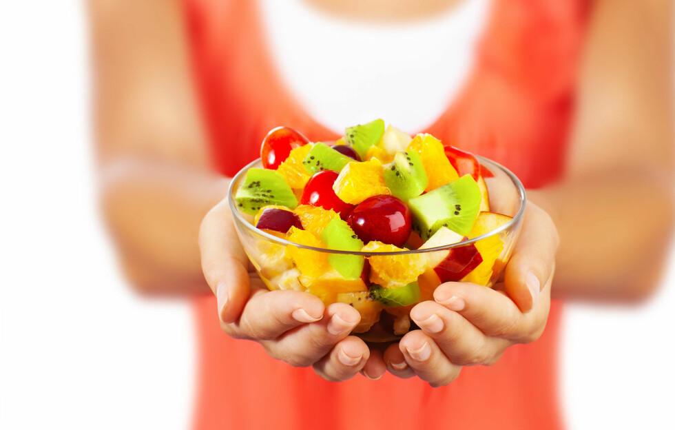 FRUKTSUKKER: Et høyt inntak fruktsukker kan skade nyrene og føre til fedme og diabetes type 2.  Foto: Anna Omelchenko - Fotolia