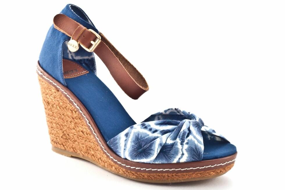 Blir batikk for vågalt for deg? Prøv sandaler i stedet (kr 499/Mexx) Foto: Produsenten