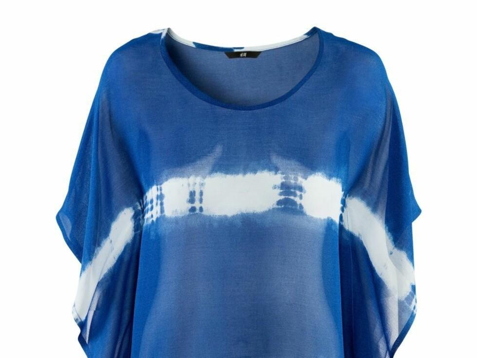 Vid og luftig t-skjorte (kr 200/H&M) Foto: Produsenten