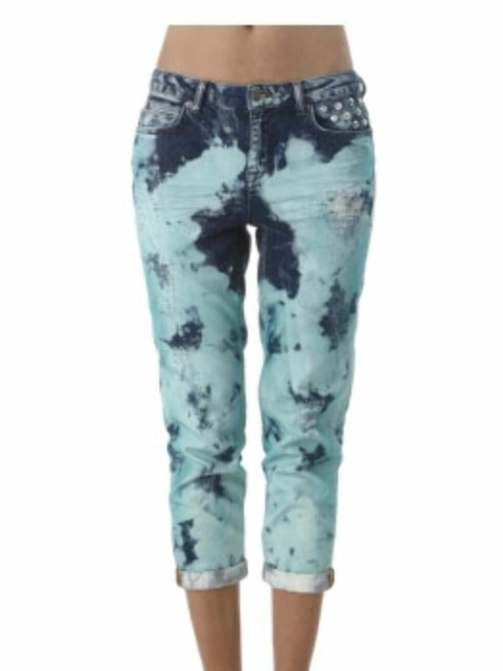 Batikkbuksene som gir deg sydenfølelsen (kr 499/Gina Tricot). Foto: Produsenten