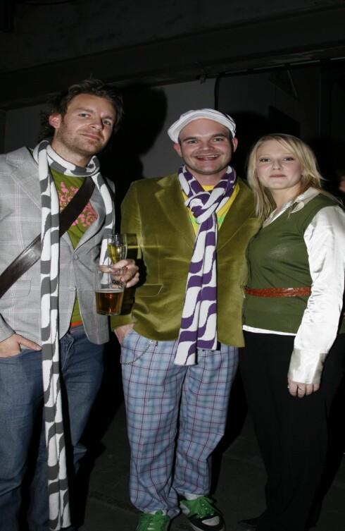 Designerne Moods of Norway og proglamleder Barbro Fagerbakk fra TV 2s Kjendisjakten.