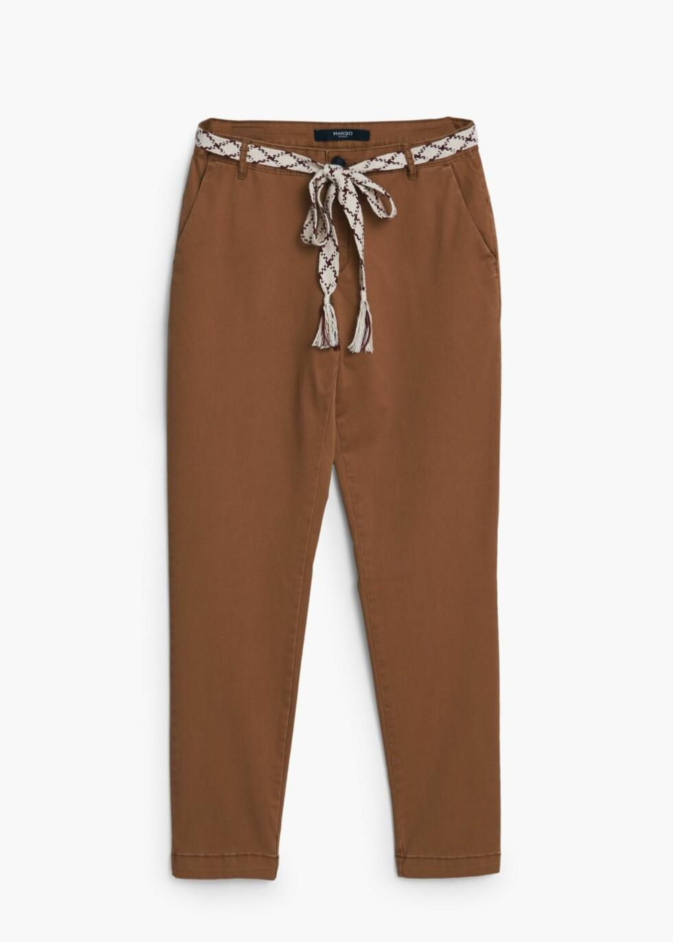 Bukse fra Mango, kr 299. Foto: Produsenten