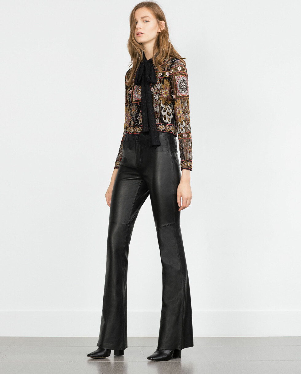 Bukse fra Zara,kr 1199. Foto: Produsenten
