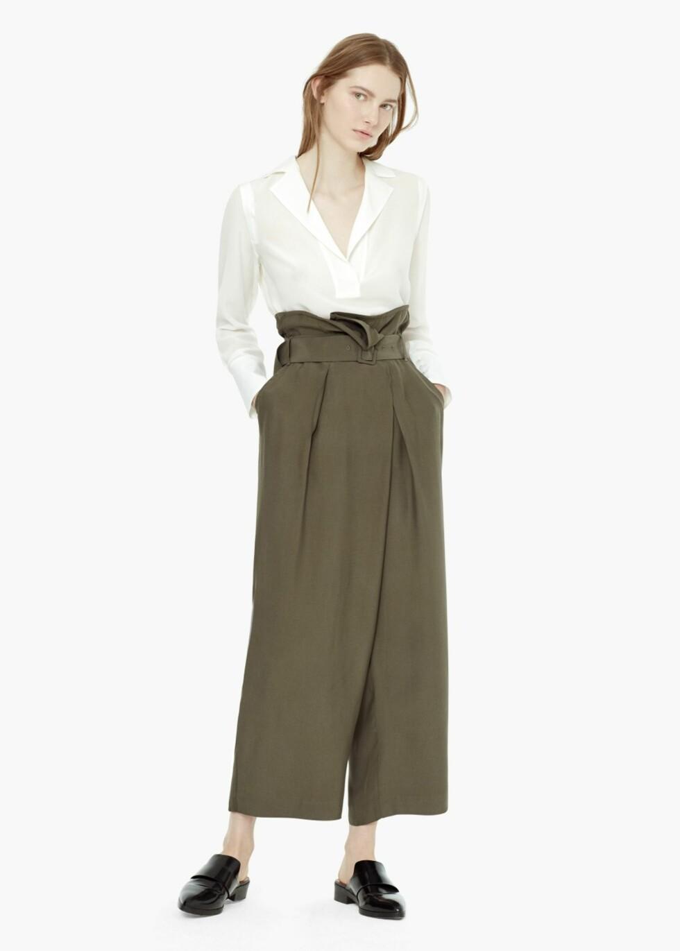Bukse fra Mango, kr 799. Foto: Produsenten