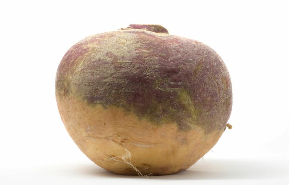 SUNN OG GOD: Kålrot er både sunt og godt. Rotfrukten er blant annet spesielt rik på vitamin C, i tillegg til at den er svært mager.  Foto: Getty Images/iStockphoto