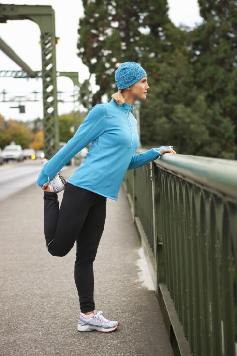 LØPE MARATON: For deg som skal løpe maraton, er det lurt å kjenne etter hvordan kroppen har det.  Foto: Pantherstock