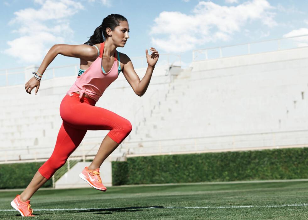 INTERVALLER: Er noe av det mest effektive du kan gjøre, hvis du ønsker å forbedre formen din raskt.  Foto: Nike