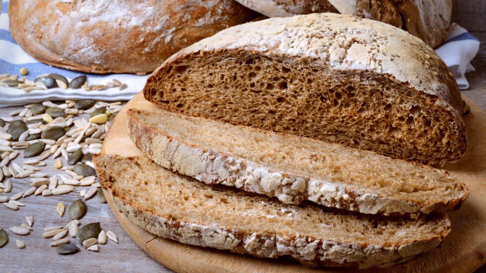GLUTEN: Gluten finnes i alle våre vanligste kornslag: hvete, rug, bygg og havre, og er en blanding av to proteiner - gliadin og glutenin. Foto: fabiomax - Fotolia