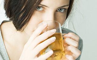 Grønn te minsker kreftfaren