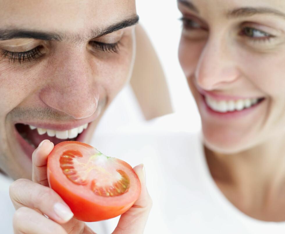 MOTVIRKER KREFT: Ny forskning viser at lykopeninnholdet i tomater kan motvirke prostatakreft.  Foto: Getty Images