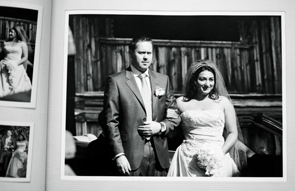 – Det var ikke noe annet enn ren kjemi, sier Shabana om ektemannen Martin Gaarder som hun giftet seg med i 2007.  Foto: Geir Dokken