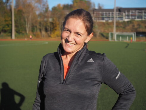 <strong>FOR GÅGGING:</strong> Løpeekspert Hanne Lyngstad mener gågging er en super måte å få opp løpemotivasjonen på.  Foto: Stine Hartmann