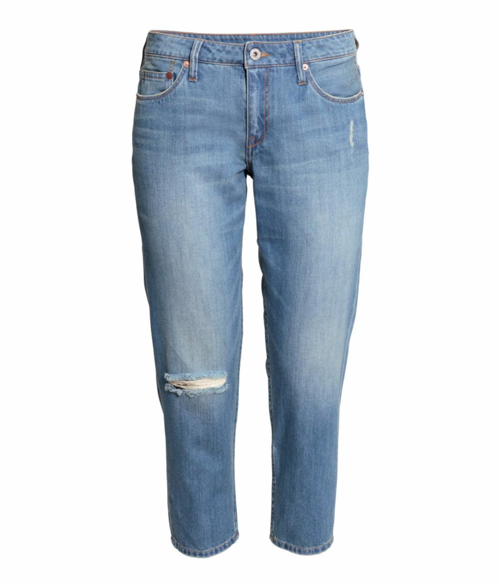 Jeans fra H&M, før kr 399 - nå kr 200. Foto: Produsenten