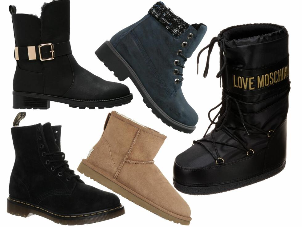 Med disse skoene holder du både stilen og varmen