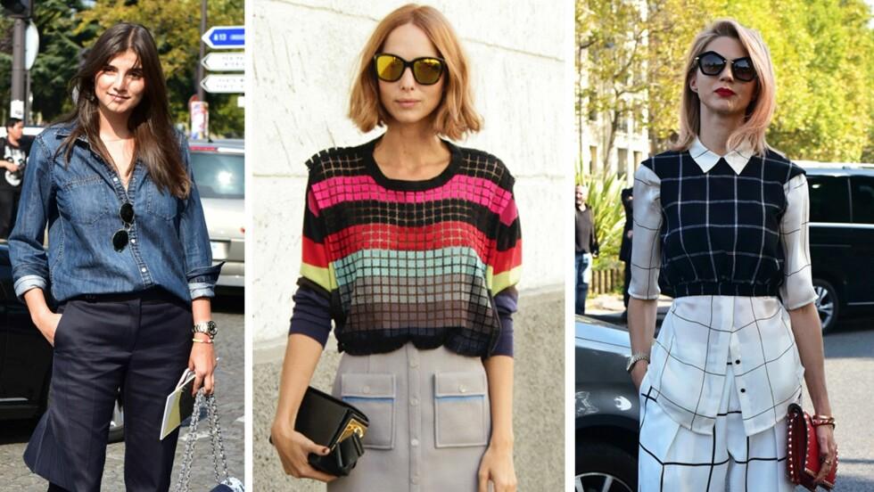 GJØR SOM IT-JENTENE: En genser, bluse eller skjorte med trekvart erme kan gjøre underverker for figuren din. Vi forklarer deg hvorfor og har plukket ut våre shoppingfavoritter.  Foto: Scanpix