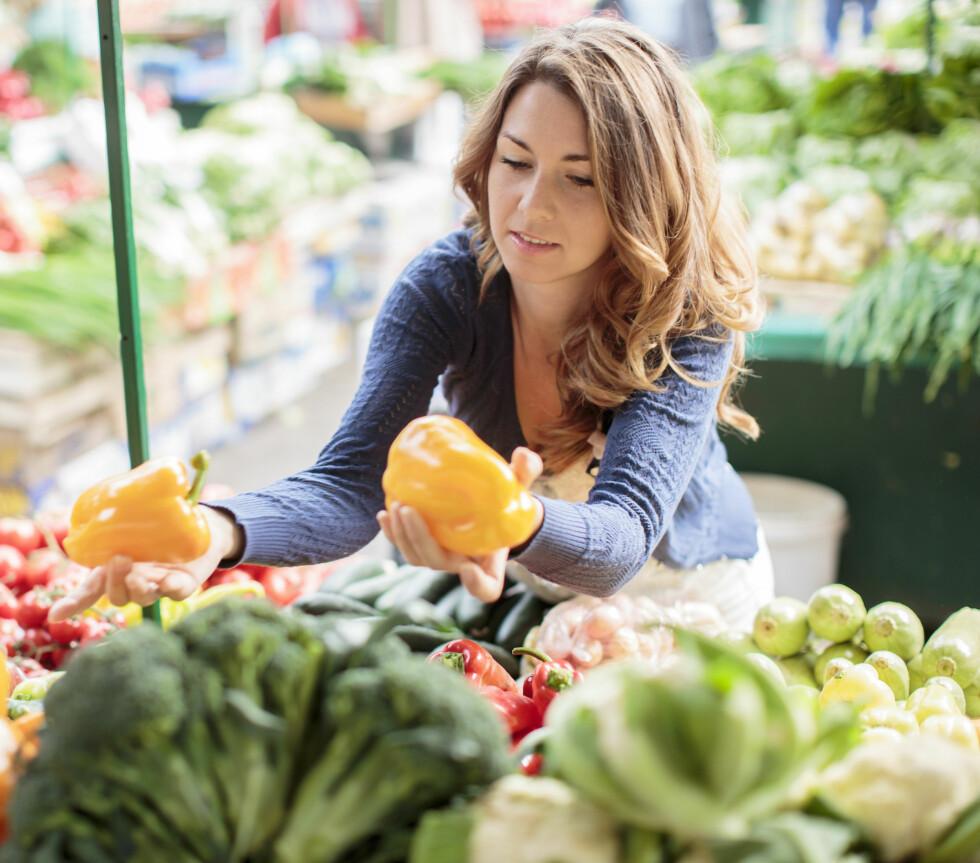 SPIS NOK FRUKT OG GRØNT: Arsky anbefaler deg å spise frukt og grønt hver dag.  Foto: Boggy - Fotolia