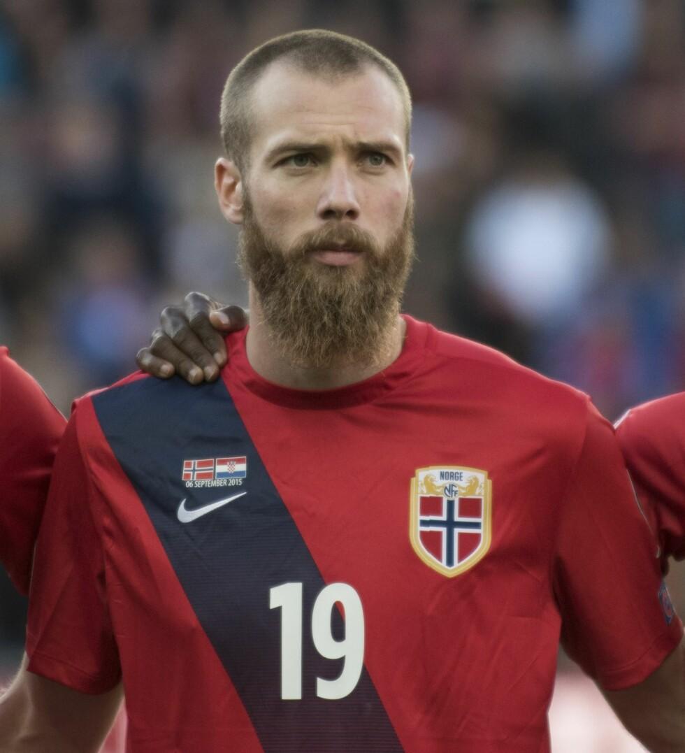 MIDTBANE OG ANGRIPER: Jo Inge Berget (25) spiller for det norske landsalget og Malmö FF. Foto: NTB Scanpix