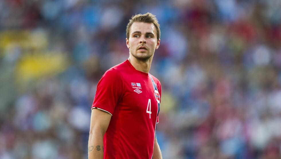 FORSVAR: Vadim Demidov (29) spiller for det norske landslaget og Brann. Foto: NTB scanpix