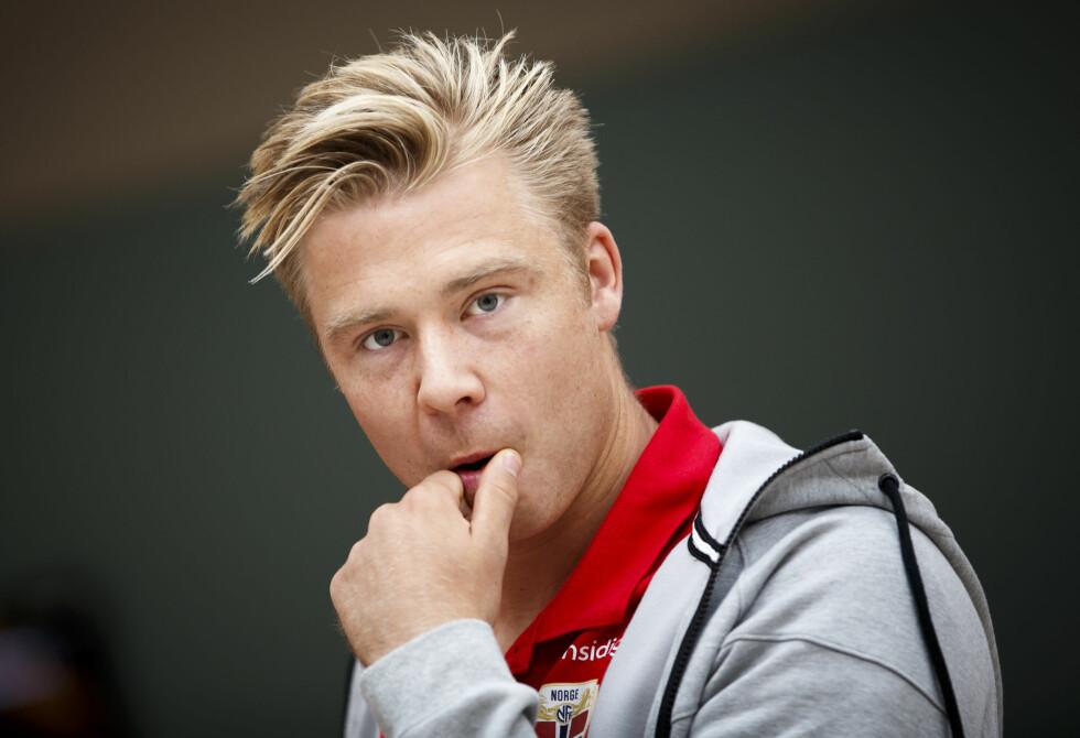 ANGRIPER: Alexander Toft Søderlund (28) spiller for landslaget og Rosenborg. Foto: NTB scanpix