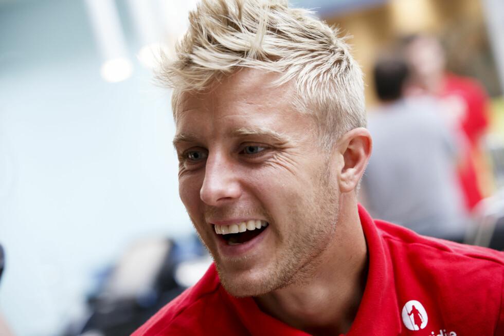 MIDTBANE: Per Ciljan Skjelbred (28) spiller for landslaget og den tyske storklubben Hertha Berlin. Foto: NTB scanpix