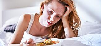Blir du veldig slapp etter å ha spist?