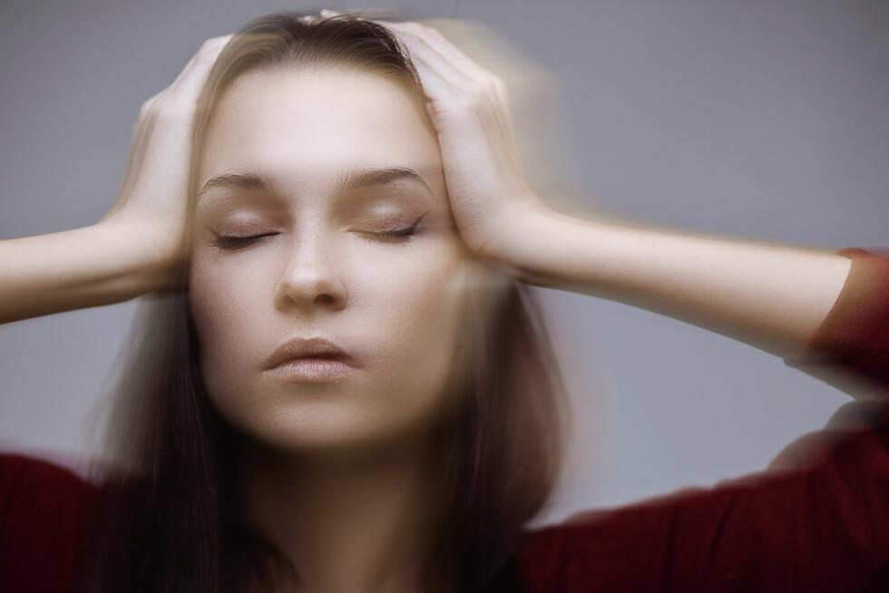 SVIMMELHET: Svimmelhet, kvalme og synsforstyrrelser er vanlige symptomer på frykt og fobi. Heldigvis fins det råd å få. Foto: honored - Fotolia