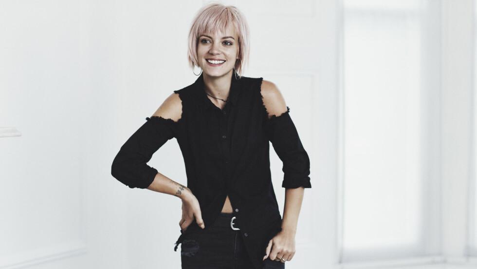 <strong>LILY ALLEN (30) DESIGNER FOR VERO MODA:</strong> Sangstjernen presenterer en partykolleksjon for den populære kleskjeden. Foto: Vero Moda