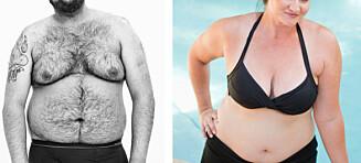- Er det mindre ok å være tjukk kvinne, enn tjukk mann?