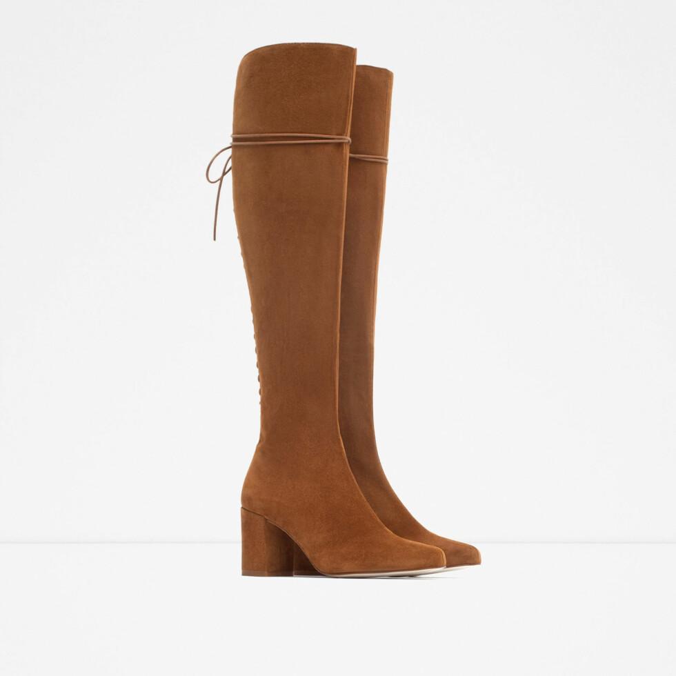 Boots fra Zara, kr 1159. Foto: Produsenten